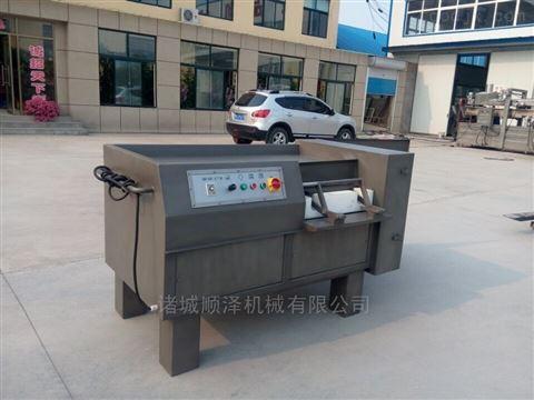 厂家直销全自动高效牛肉粒切丁机