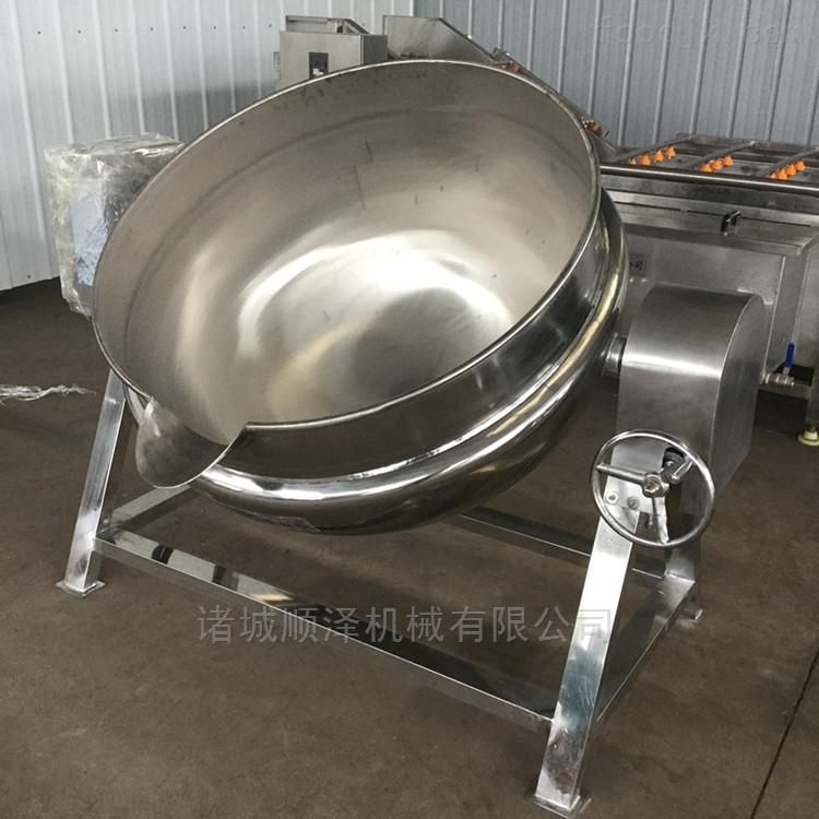 全自动可倾式导热油夹层锅 立式蒸煮锅