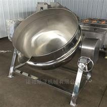 全自动带搅拌夹层锅 熬糖专用锅