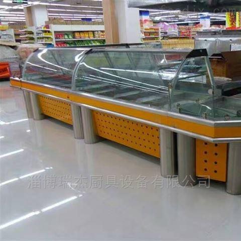 青州超市不锈钢面食柜
