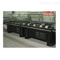 超市不锈钢凉菜柜,面食展示柜,熟食保鲜柜