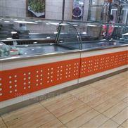 全新不锈钢熟食柜,超市展示柜,批发