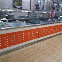 不锈钢熟食柜,超市展示柜
