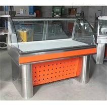 不锈钢熟食柜,直冷式熟食展柜