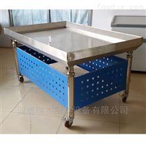 可定做的不锈钢冰鲜台