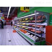 一体机水果保鲜风幕柜,超市保鲜柜