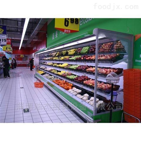 供應超市奶制品保鮮風幕柜