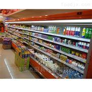 酸奶保鲜风幕柜,超市专用