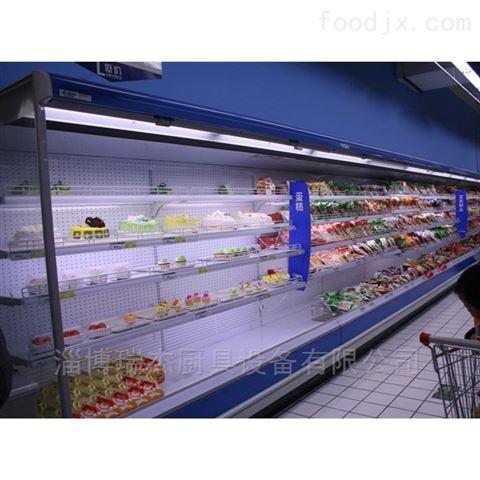 超市果蔬保鲜风幕柜瑞杰出品