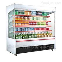 瑞杰水果保鲜柜也叫风幕柜