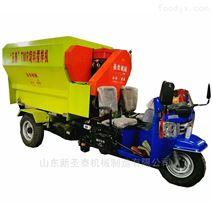 三轮带动TMR 可移动日粮搅拌机