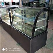 柏川日式商用定制冷藏展示柜直角蛋糕柜设备