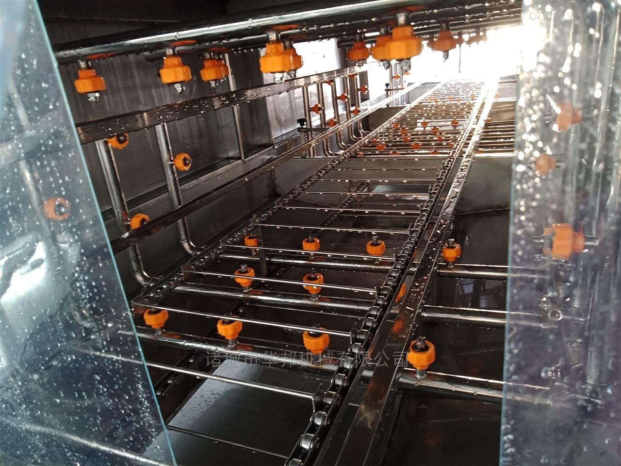 华邦牌塑料啤酒筐清洗机 全自动洗筐机