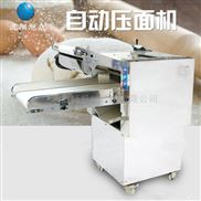 旭眾全自動大型壓面機商用搟面皮機器壓面揉面機電動多功能