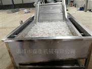 大容量海带裙带菜气泡喷淋清洗机厂价供应