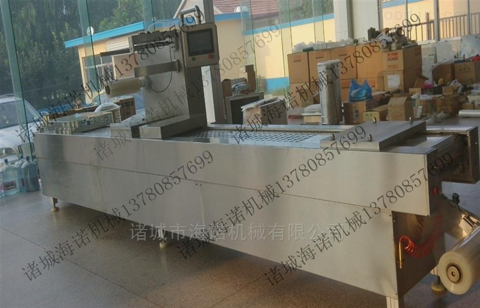 320膨化小米全自动真空包装机 山东拉伸膜厂家