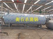 衡石机械食用菌杀菌豆制品杀菌回转式杀菌锅