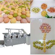 夹心饼干加工机器小型杂粮饼干生产流水线