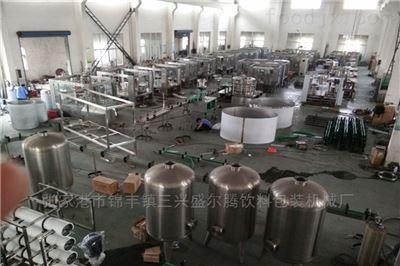CGF瓶装饮用苏打水灌装机生产线