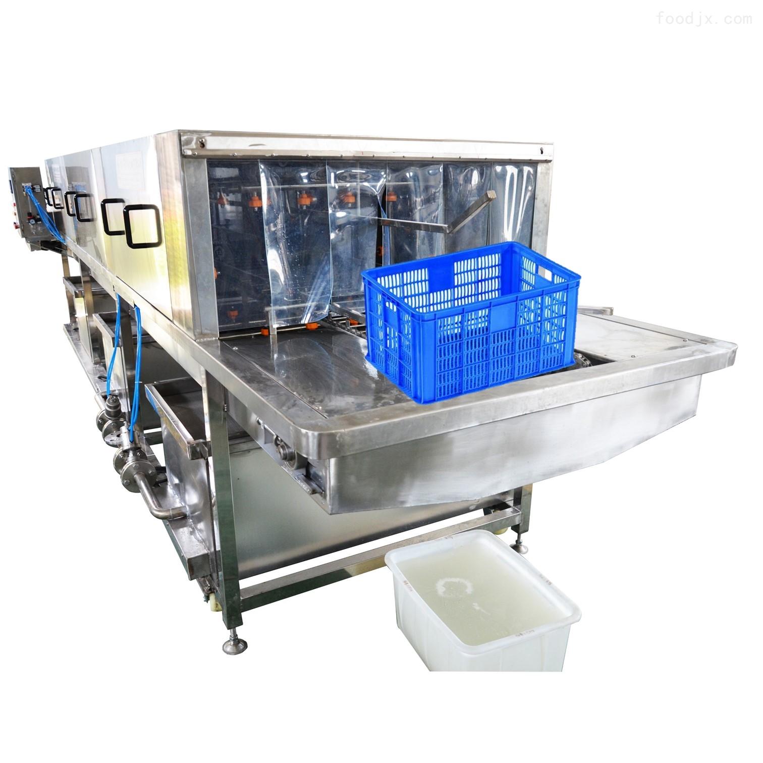 洗筐机厂家直销 塑料筐清洗机 高效去油污