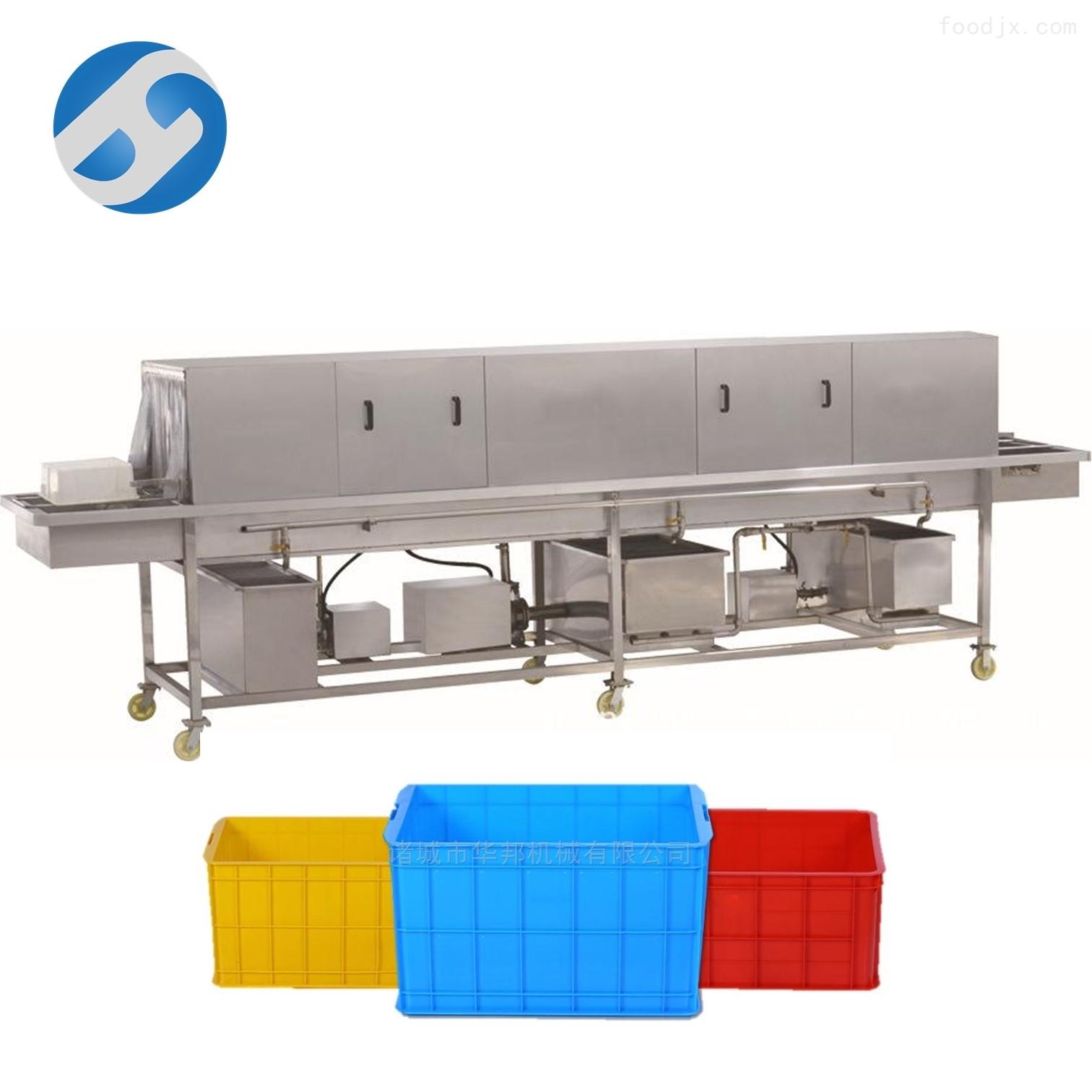 厂家供优质不锈钢周转筐清洗机 洗筐机