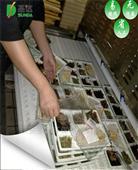 微波盒饭加热设备隧道式杀菌设备