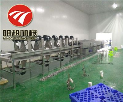 QZM-6青椒加工设备专用气泡清洗机