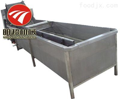 MCQXJ-2000菜心蔬菜气泡清洗机流水线价格低廉