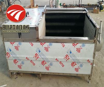 MC-4000毛辊式莲藕清洗机效率多快