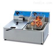 美食街商用电炸炉|单缸炸薯条的机器