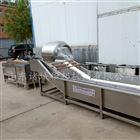 华邦蔬菜清洗机风干机流水线 果蔬清洗设备