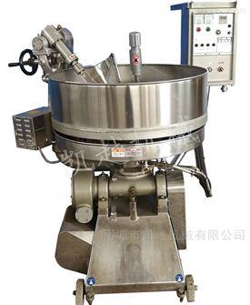 大型燃气加热多功能炒菜机