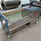 H200土豆去泥清洗机 毛辊去皮设备生产厂家
