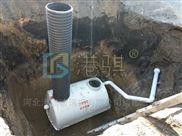 山東旱廁改造實景圖沖廁器高壓壓力泵-港騏