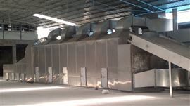 DW虾壳专用多层带式干燥机
