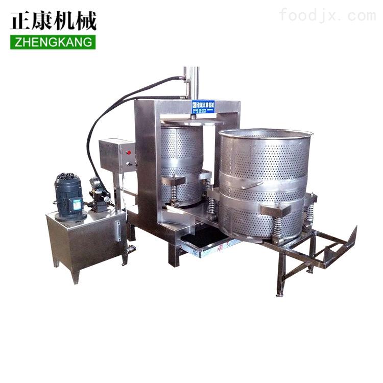 竹笋液压压榨机