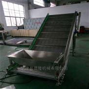 重型鏈板式冷庫速凍輸送機隔板提升機