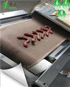 卤鸭脖微波干燥设备隧道式卤肉灭菌设备