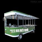 街道早餐车新电动餐车创意小吃车配置可升级