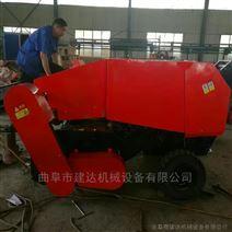 粉碎后玉米秸秆捡拾打捆机 收割粉碎压捆机