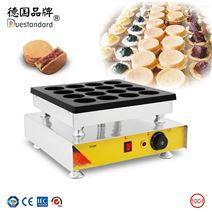 商用电热16孔红豆饼机车轮饼烘培设备电饼档