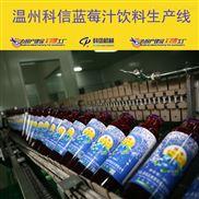 整套蓝莓果汁饮料灌装机械设备厂家温州科信