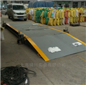 SCS-QC-D移动型50吨地磅,移动式电子汽车衡60吨