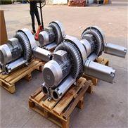 双叶轮铝制爆气高压风机 双段漩涡气泵