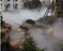 园林造雾设备 假山流水景观喷雾机