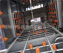 大型洗筐机生产线
