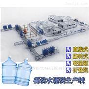 小型全自动桶装水灌装机生产线