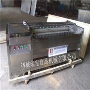 瑞宝MG-1500型大姜去皮毛辊清洗机