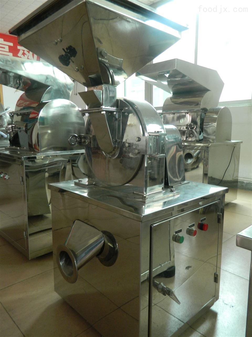 中型商用不锈钢涡轮中药材超细粉碎机