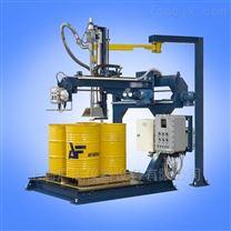 吨桶有泡沫液体灌装4*200公斤托盘式分装机